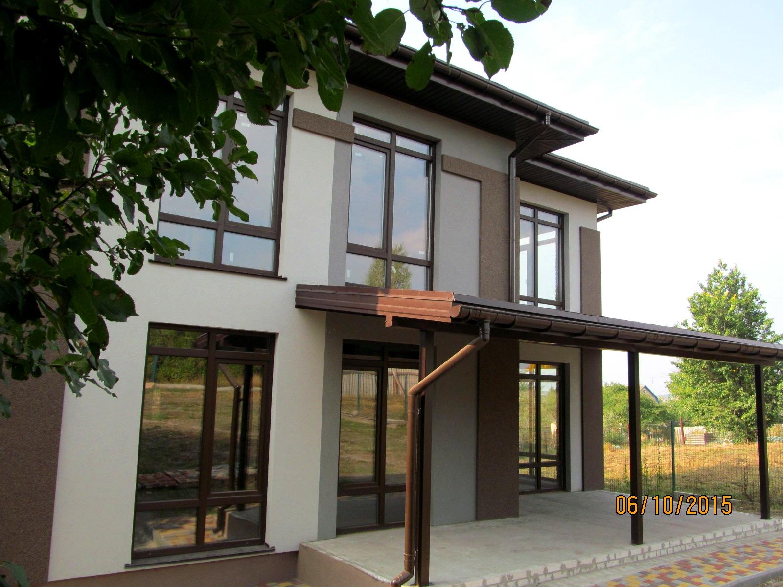 Кирпичный дом с террасой 207 кв.м.