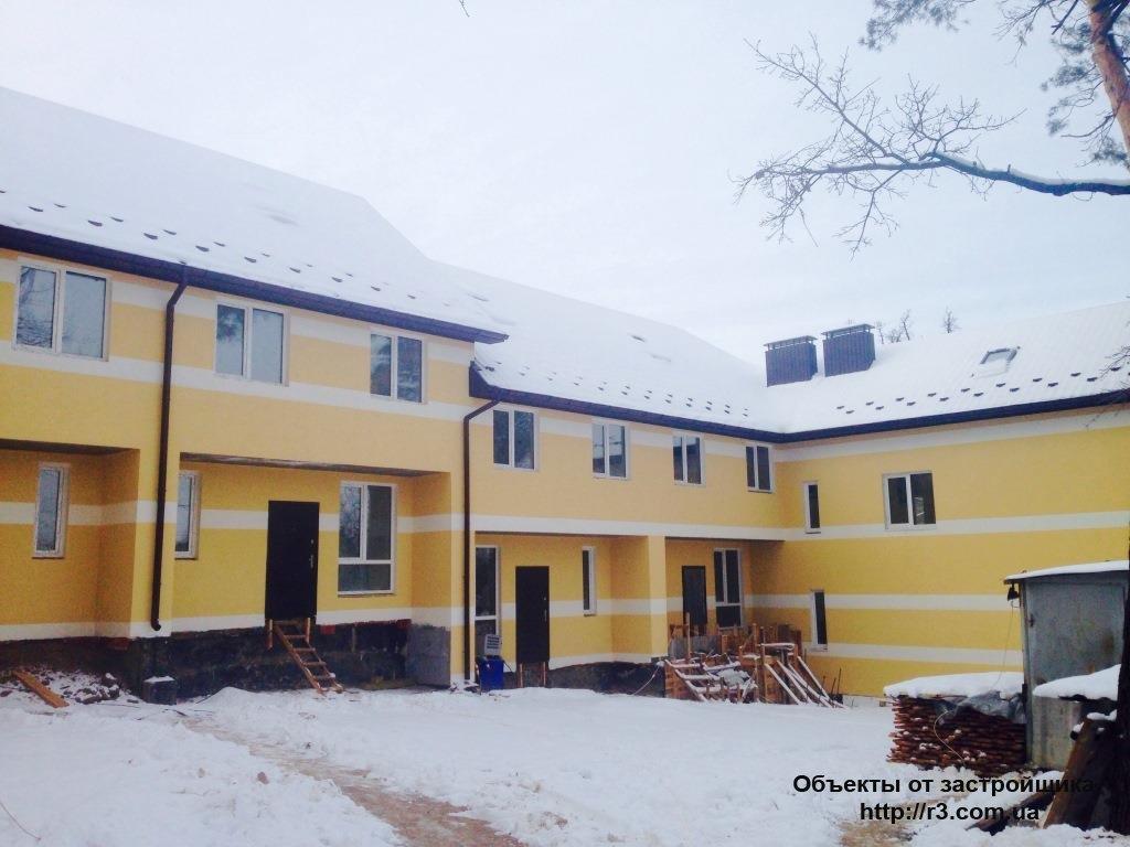 Клубний будинок «Новооскольський маєток» Таунхаус Ірпінь