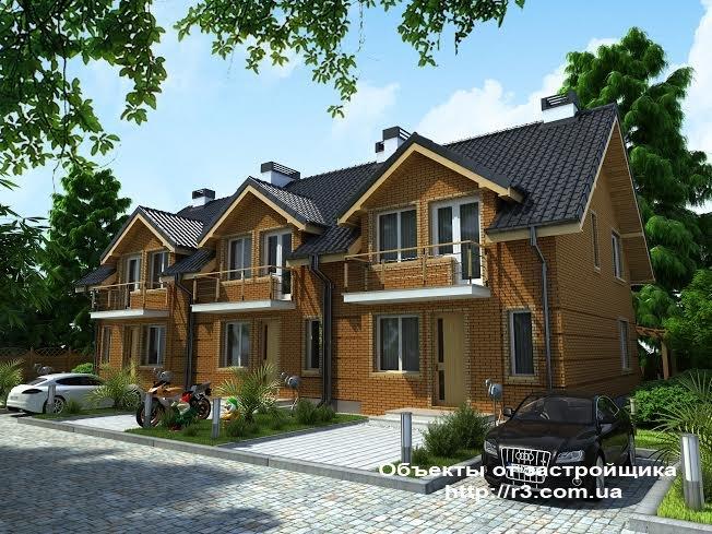 Новый Таунхаус в г. Ирпень,  ул. Озерная