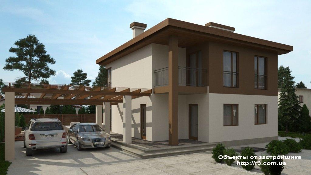 Дом в Лесной Буче 135 м²,  5 соток.