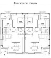 Дуплексы в Ирпене, 140 кв.м., кирпич, 67 000у.е.