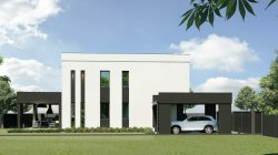 Новый дом в центре Бучи 120 кв.м., 4 сотки - 80 000у.е.