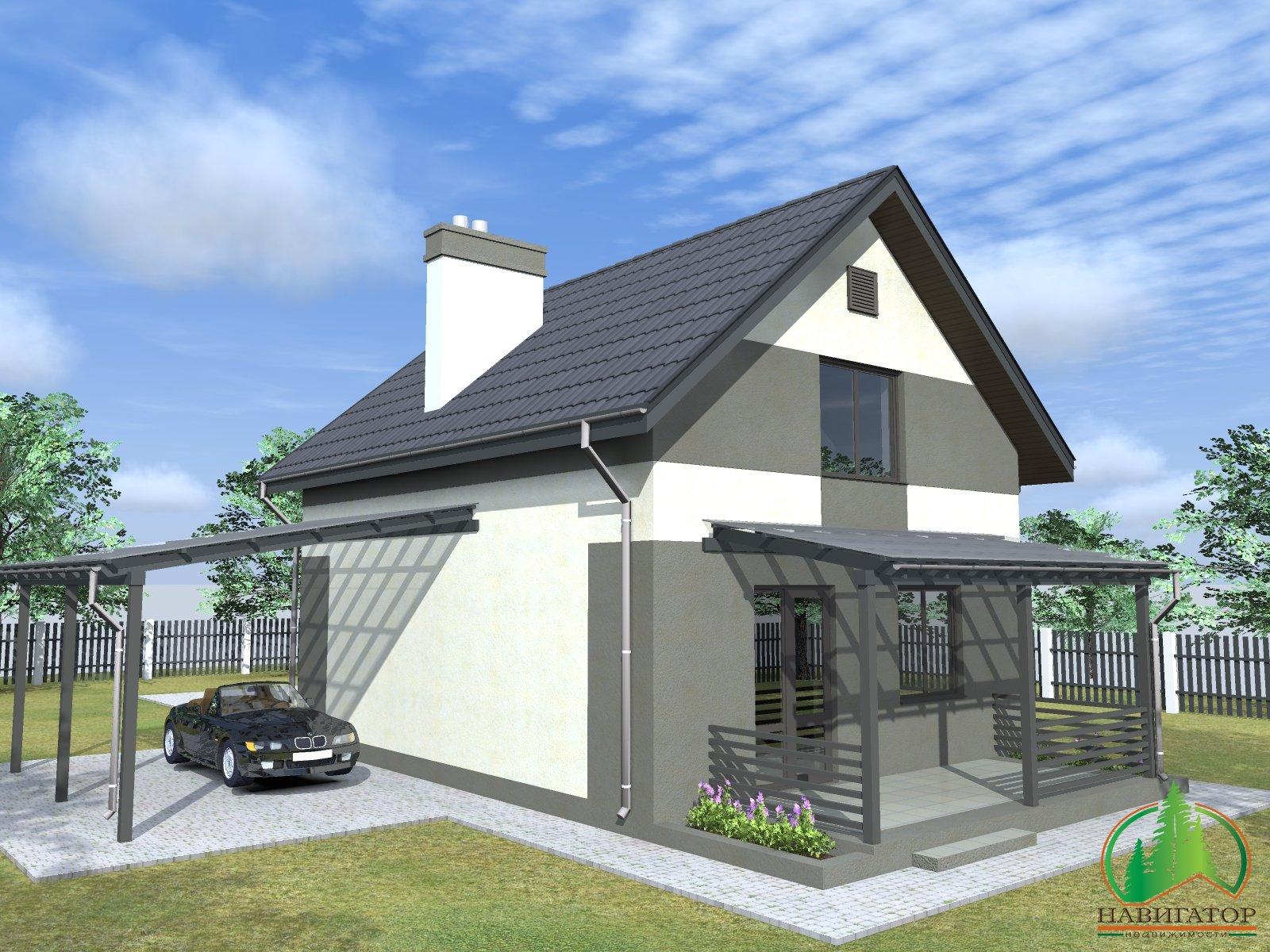 Дом с максимальным энергосбережением