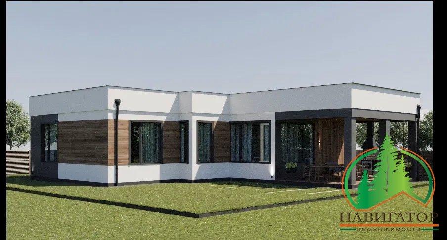 Энергосберегающий дом в Ирпене, 100 кв.м., 5 соток.