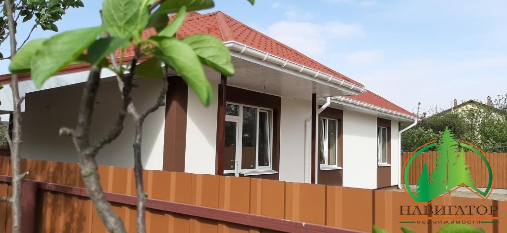 Одноэтажный качественный Дом в центре Бучи от застройщика.